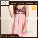 Women sexy Lace Silk Nightwear