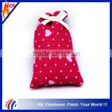 wholesalers factory price fashion aroma scented sachet,clothes scent sachet, car air freshener sachet bag