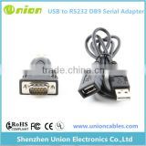 FTDI Chipset USB to serial com port adapter with usb extension cable