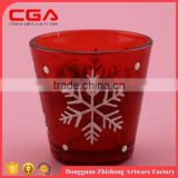 Attractive romantic love mercy glass votive candle holder                                                                                                         Supplier's Choice
