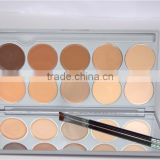 New 10 Color Concealer Foundation Cream Palette Nature Moisturizer Whitening Makeup Tools
