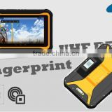 Android rugged 3G NFC RFID fingerprint reader tablet PC with free SDK