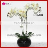 decorative artificial latex flowers orchids silk orchid