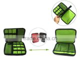 Double Layer Travel Gear Organizer Electronics Accessories Bag for Tablet PC USB Drive, Phone