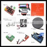 New business Ramps 1.4+Mega 2560 + Heatbed Mk2b+2004 LCD Controller+5Pcs A4988 Driver+6Pcs Endstops+Fan For 3D Printer