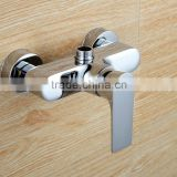 QL-33513 high quality bathroom shower faucet wall mounted polished concealed bath mixer with diverter bathtub mixer tap