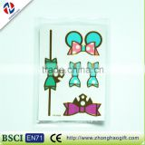 New arrived fancy safe quality wholesale cute elegant decorative craft hair sticker for kids