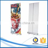 80/85*200cm aluminum slim base roll up display, expo roll up banner stand for advertising