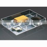 4-Compartment Acrylic Accessory Tray