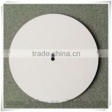 blank round 19cm MDF dial plate for sublimation printing