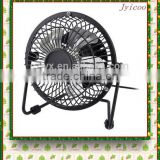 JY501B hot sale cheap metal material table desktop mini rechargeable cooling usb fan for summer gift for home and office