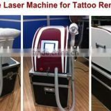 Q Switched Tattoo Eyebrow Pigment Removal Nd Yag alexandrite Laser Birthmark Removal Beauty Device Machine