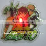 led PVC patch for kids T-shirt
