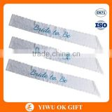 Cheap Hot Sale Sexy Lace Bride to Be Sash Hen Party Sash