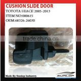 toyota hiace parts new items cushion slide door 68326-26030 for hiace van,commuter,KDH200