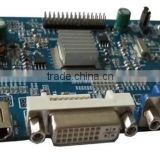 tft lcd controller board with VGA, DVI and HDMI interface