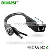 China Manufacturer UTP Video Balun Transceiver For CCTV Passive Power 1 channel with BNC Connector PST-VBP01P