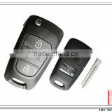 AK020022 Best quality Universal Car Key for Hyundai Elantra 3 button Flip Remote Key [433MHz]
