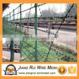 cheap price used galvanized barbed wire producer (secure payment) / Heavy duty barbed wire mesh