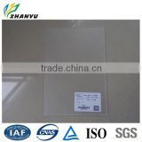 New Material High Impact Fully Transparent Scratch Resistant Foggy PE Film both Sides Clear Acrylic Sheet
