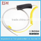 Hot sold Industrial K type Hand-held Armoured Thermocouple Handle Material Bakelite Diameter 8mm Probe Length 500mm