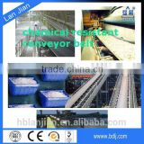 Made In China ISO Chemical Industry Conveyor Belt for Printing Fertilizer Industry/Flat Pattern Sidewall Belt Conveyor Price