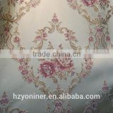 exquisite embroidery curtain fabric, luxury curtain for high-end interior decoration, embroidery curtain fabric hangzhou suplier