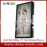 15 inch LED TV Full HD Wall Mounted indoor use Android System Tablet Network Bus LCD Advertising Display