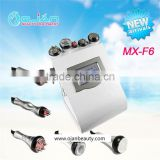 Ultrasound Therapy For Weight Loss MX-F6 Vacuum Cavitation System Skin Rejuvenation Cavitation Rf Slimming Machine 10MHz