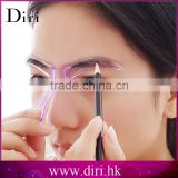 China Factory Plastic DIY Shaping Eyebrow Template, Eyebrow Shape Stencil, Makeup Grooming Tool