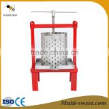 hot sale beekeeping manual steel honey bee wax presser