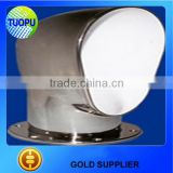 Tuopu marine hardware high quality and low price stainless steel air cowl vent in selling
