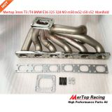 Mertop Race update 3.0mm thick Top Mount T3/T4 Turbo Manifold for BMW E36 325 328 M3 m50 m52 s50 s52