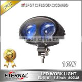 5.5in 10W super spot blue red forklift safety light industrial heavy duty emergency equipments warning lamp