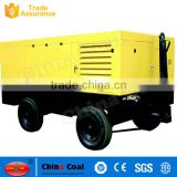 Mining Use Diesel Mobile Air Compressor With Best Price For Jack Hammer
