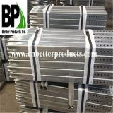 Hot Dipped Galvanized Perforated Traffic Steel Square Sign Posts Tubing