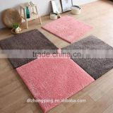 custom New design non slip washable area rugs tufted floor patchwork carpet