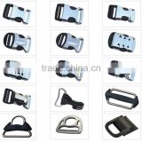 handbag/ Equipment accessories adjustable slide metal buckles