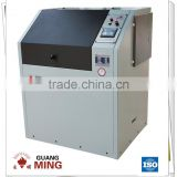 Intelligent rotary laboratory grinder with tungsten carbide grinding bowl suitable to grind hard rock, stone