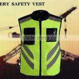 DERY Reflective yellow safety vest Class 3 2015