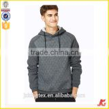 Promotion High Quality Custom Made Grey Sleeve Screen Printing T/C Fleece xxxxl Hoodies Outdoor Sports Wear