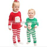2016 European Christmas Santa Claus baby sets foreign Christmas children clothing