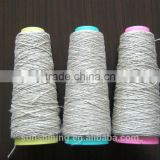 100% natural linen yarn Flax yarn 5NM raw, semi-bleached, short fiber, long fiber wet spun, dyr spun