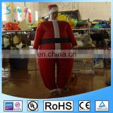 Custom Red inflatable christmas santa claus costume for sale CA-041