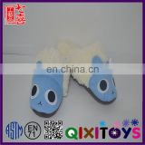 Nice kids animal shoes plush teddy bear slippers stuffing plush shoes