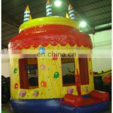 Inflatable bouncer house/birthday cake bouncer /Inflatable Jumper slide/moonwalk/playground