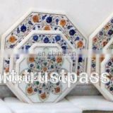 Home Decorative Marble Inlay Coffee Table Tops