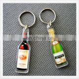 Personalized mini beer bottle keychain factory