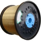 supply high quality 0.50mm brass plated steel wire for hose reinforcement
