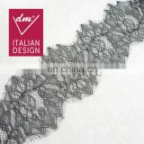 Top quality embroidery eyelash lace fabric